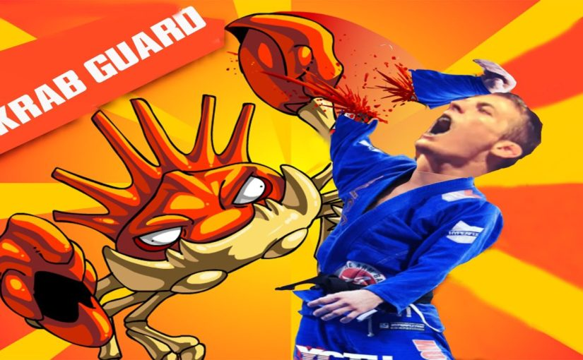 Crab guard – counter to the open guard passes