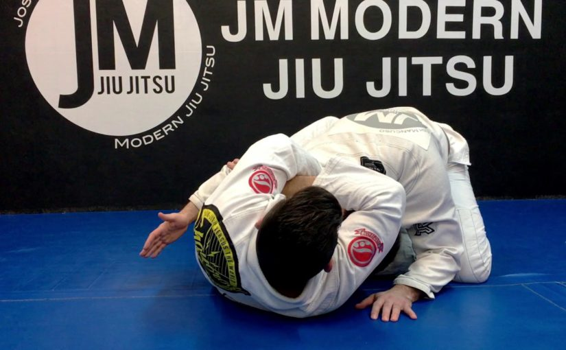 Loop choke from butterfly guard