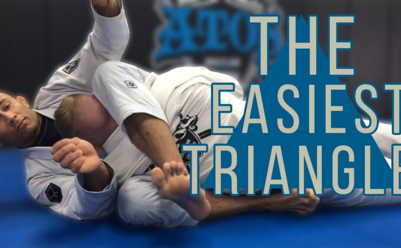 Triangle choke from side control