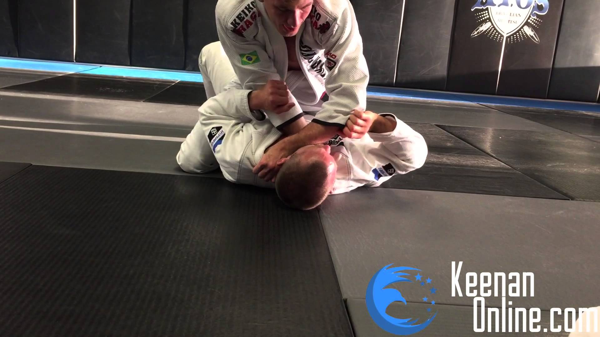 Cross choke from mount by Keenan Cornelius