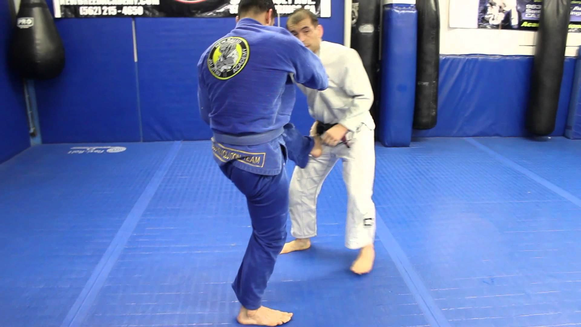 Open guard pull counters