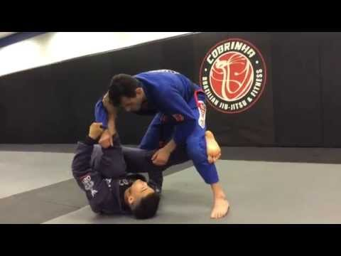Reverse dela spider guard to leg drag sweep