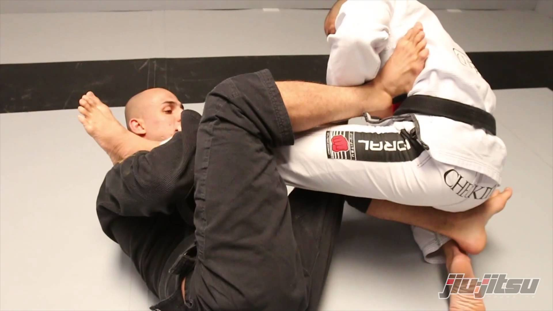 Back take from Knee shield and X-guard