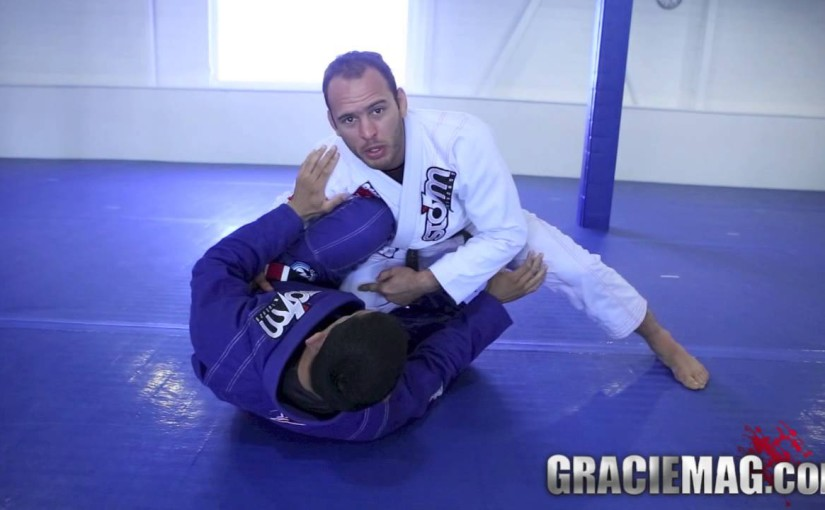 Estima lock to counter an inverted guard
