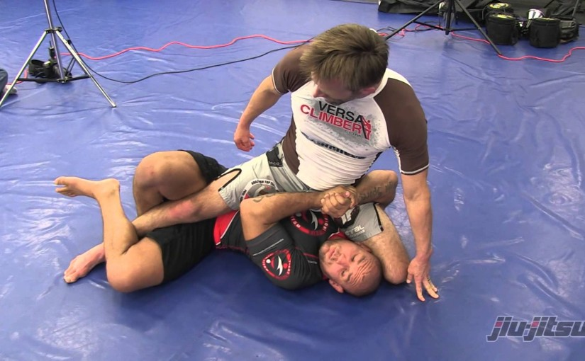 Get the deep half guard and go to the back