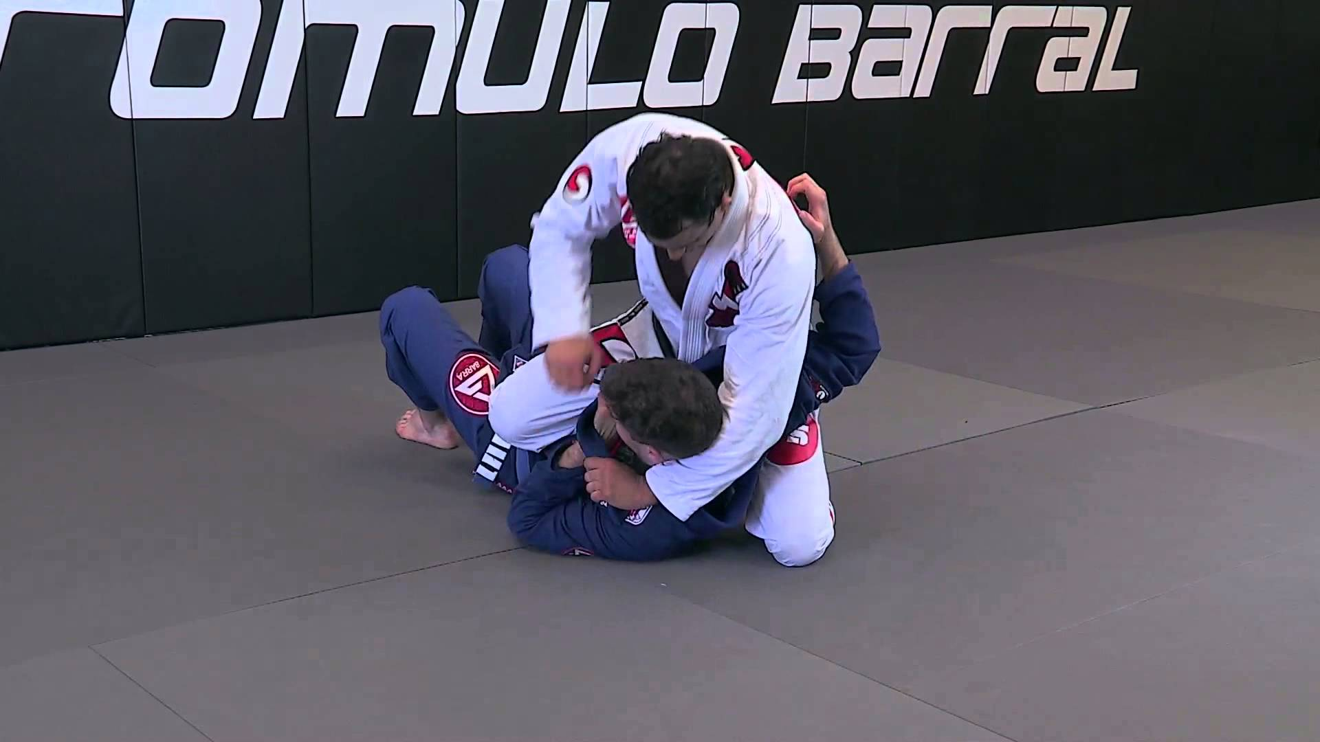 Side control to the mounted triangle