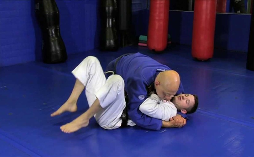 Side control escape using a granby roll