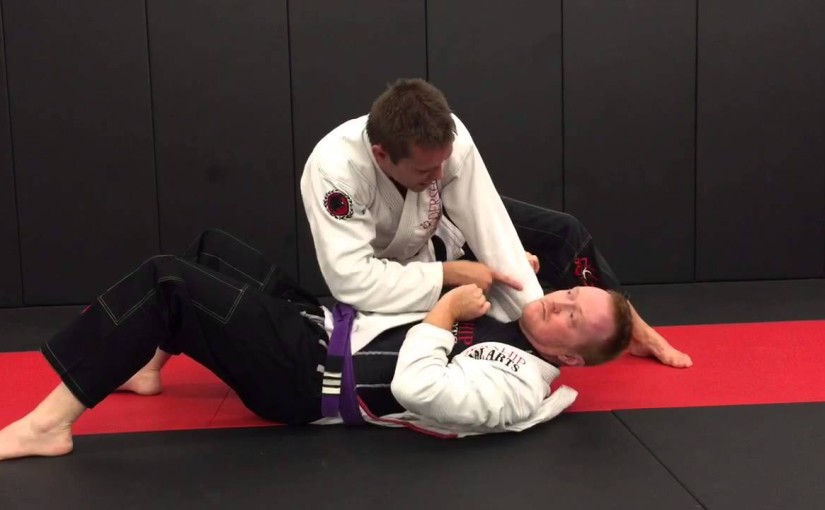 Flavio Canto choke from side control
