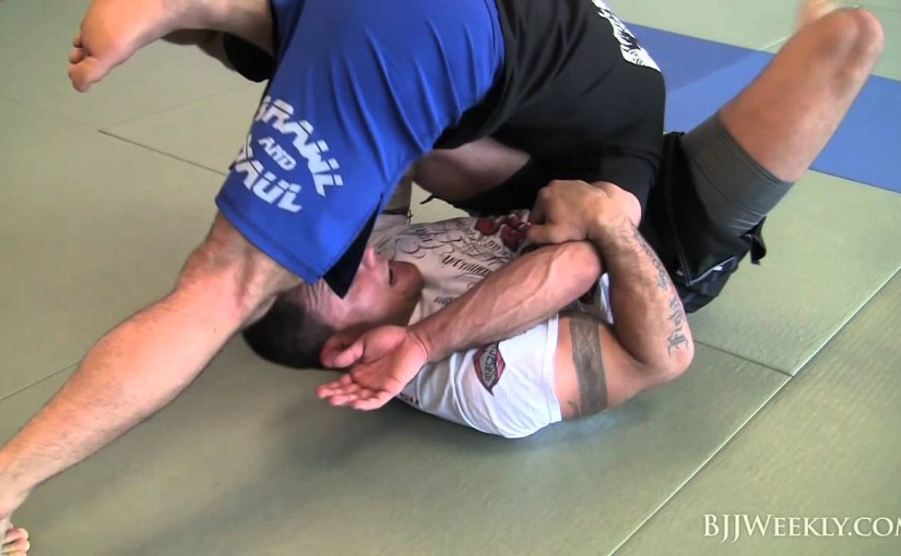 Inverted guard sweep to kimura