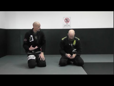 Defending the 50/50 footlock and getting the back