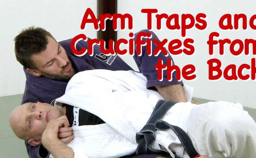 trapping the arm from back position